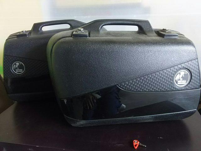 ヘプコ&ベッカーのF800GS用のパニアケース