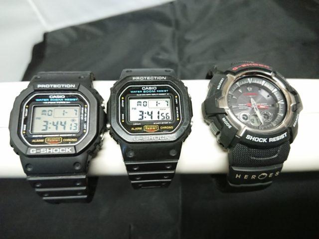 G-SHOCK 3本セット DW-5600 GW-1500J DW-5600E